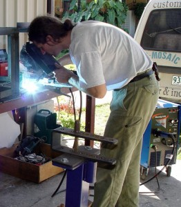 Welder fitter metal craftsman