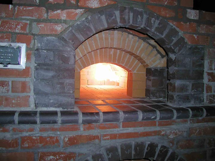 Wood Gas Pizza Oven