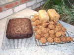 Some of our first baking