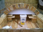 32 x 40 inch firebrick space