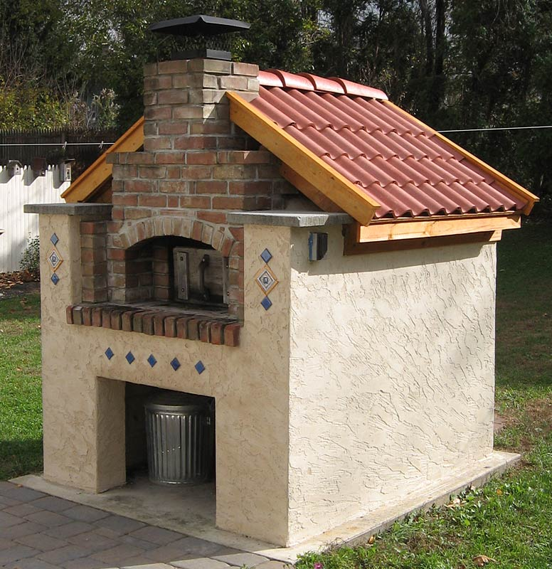 Recently Finished Oven Roof Lovely Design Project Built