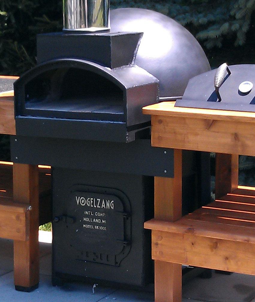 Tankhead Pizza Oven