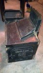 fabricating metal fire-box