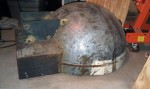 fabrication metal dome oven