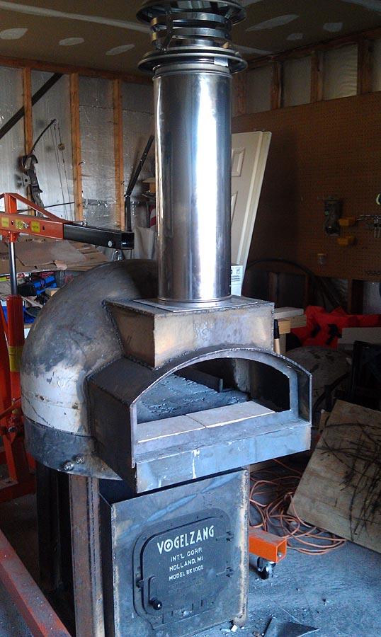 Tank Head Oven Metal Fabrication