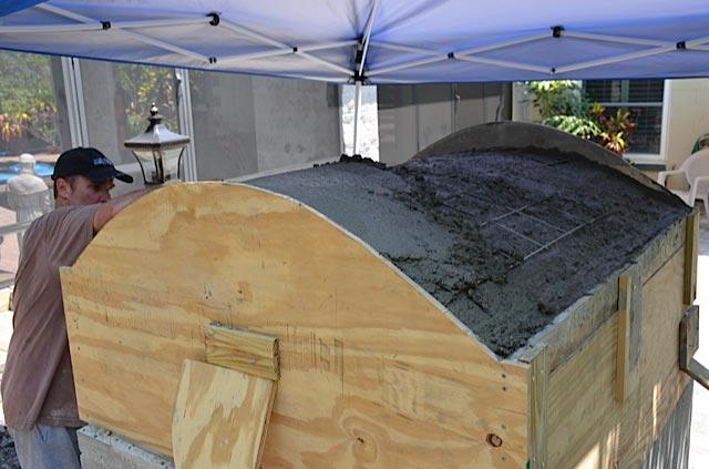 Heat Proof Mortar : Applying heat proof mortar