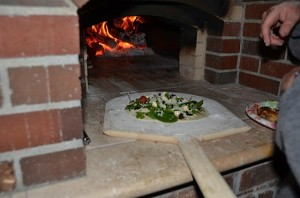 Yum - pizza just goes in now