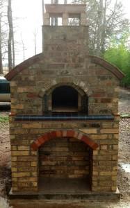 Reused and new bricks