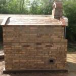 Recycled bricks character