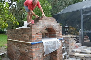 Work starts of the chimney