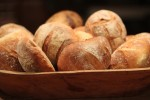 Homemade Bread Baked in Gusto oven style