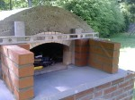 Making flue-box - hot air vent