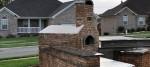 Oven from kiln bricks