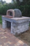 Pizza oven building job