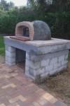 Pizza oven building job