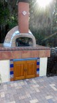 Pizza oven - half spherical