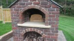 Red brick oven