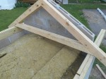Making oven roof frame