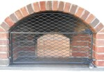 Lockable oven gate door