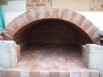 brick vault work