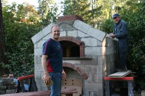 Fire brick oven builders
