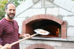 Firebrick oven pizza by Bassim