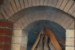 Firebrick oven firing test and the hood function