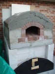finished inner oven part