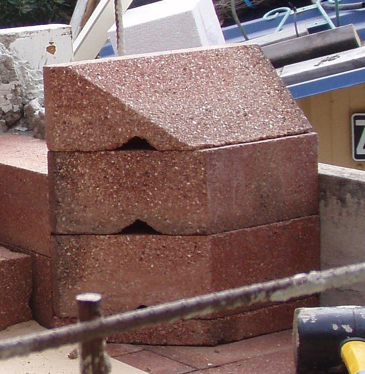 Clay Brick Stove : Solid clay bricks were used instead of firebricks
