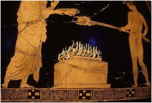 History of wood burning ovens for Ancient greek cuisine history