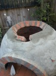 Constructing a brick dome oven