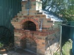 Convict clay bricks oven