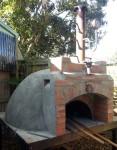 Smoke box brickwork